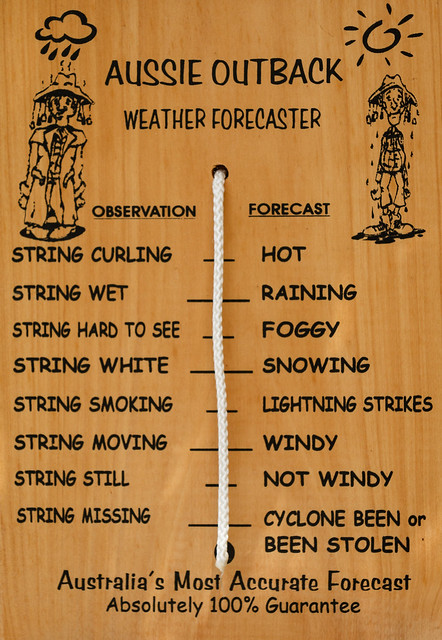 Aussie Outback Weather Forecaster
