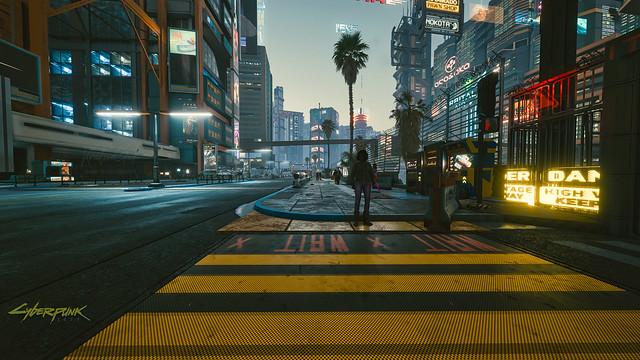 Night City Street View - Cyberpunk 2077