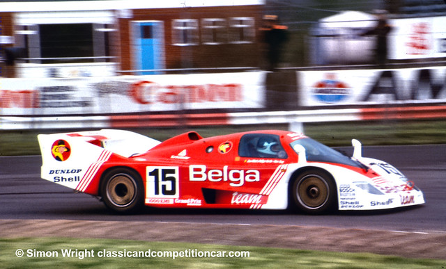 Porsche 936C Joest Racing  Marc Duez:Philippe Martin:Jean-Michel Martin retired gearbox