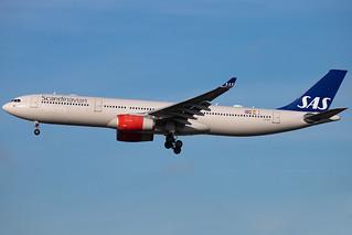 Scandinavian Airlines - Airbus A330-343X - MSN 497 - LN-RKH