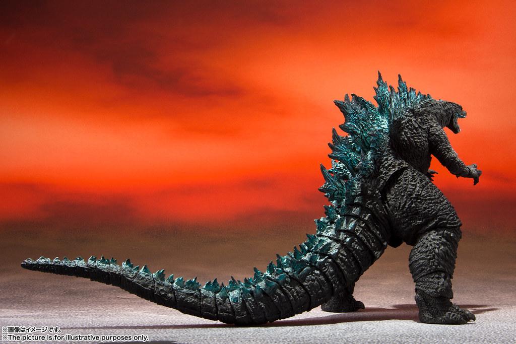 兩大巨獸經典對決 S.H.MonsterArts《哥吉拉大戰金剛》哥吉拉(2021)商品情報公開!