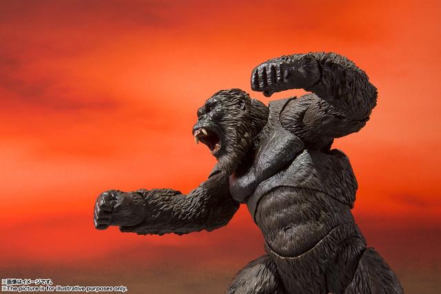 吃我的斧頭啦! S.H.MonsterArts《哥吉拉大戰金剛》金剛(2021)商品情報公開