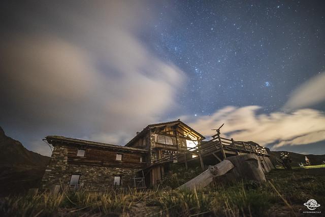 Rifugio Mont Fallère - I cieli più belli d