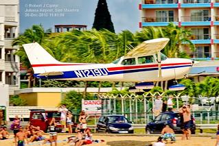 Private, Cessna 172, N1219U, TNCM, 30-DEC-2013