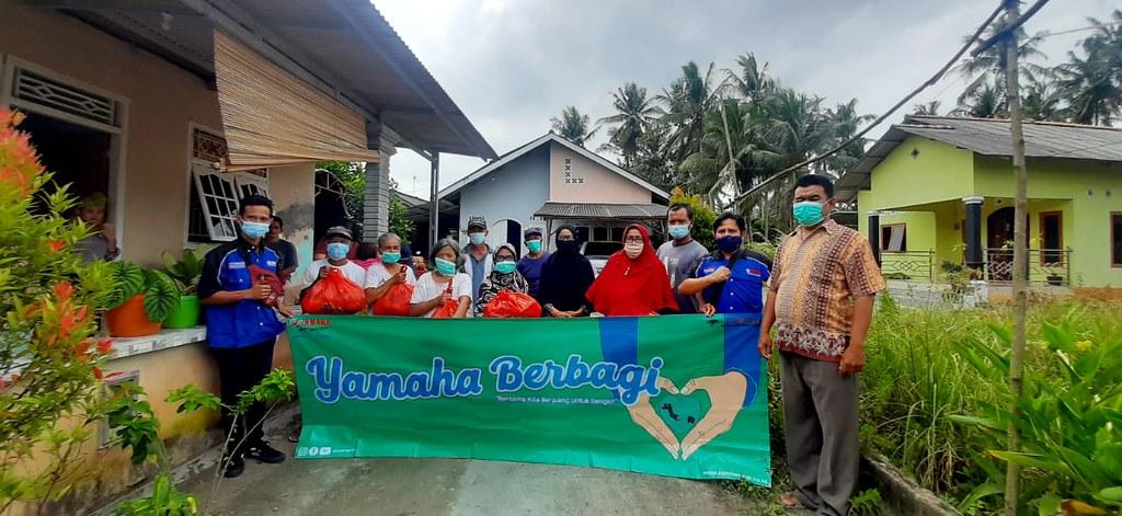 Yamaha Berbagi Untuk Korban Banjir di Bangka (1)
