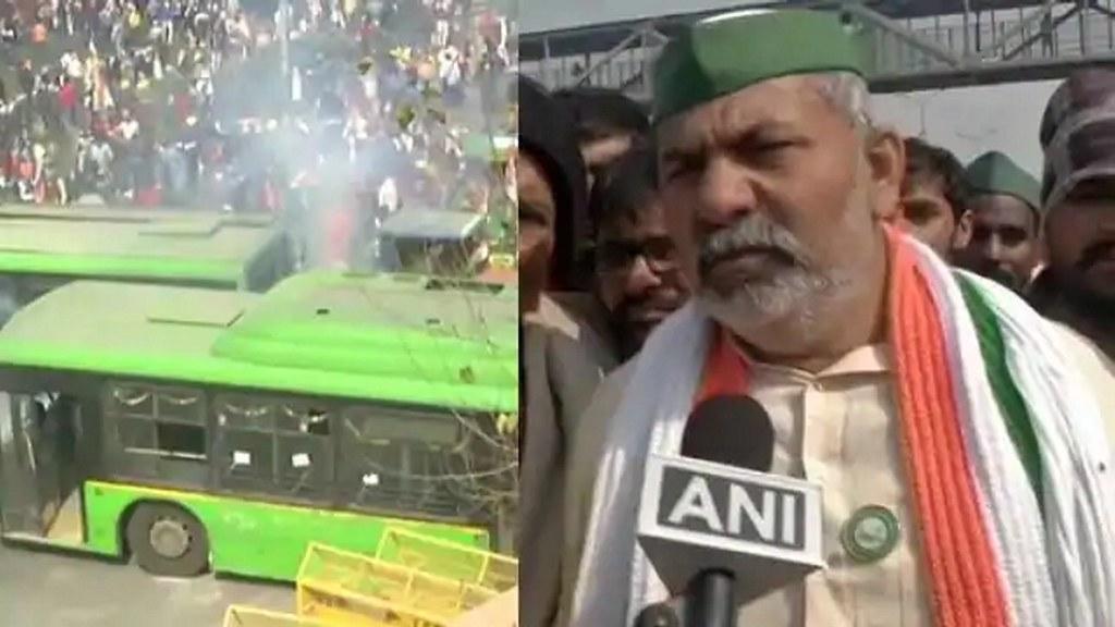 दिल्ली में किसानों और पुलिस के बीच टकराव
