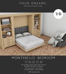 {YD}  Montebello  Bedroom