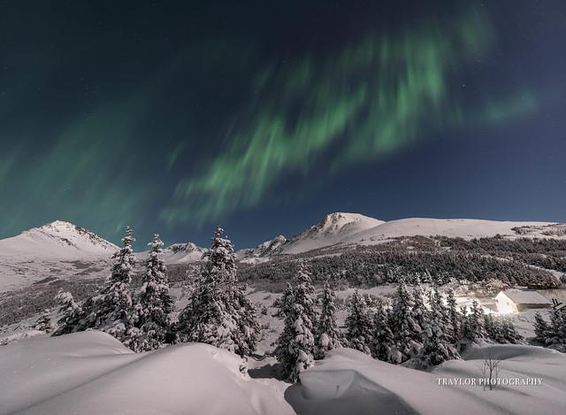 Auroras over Flat Top