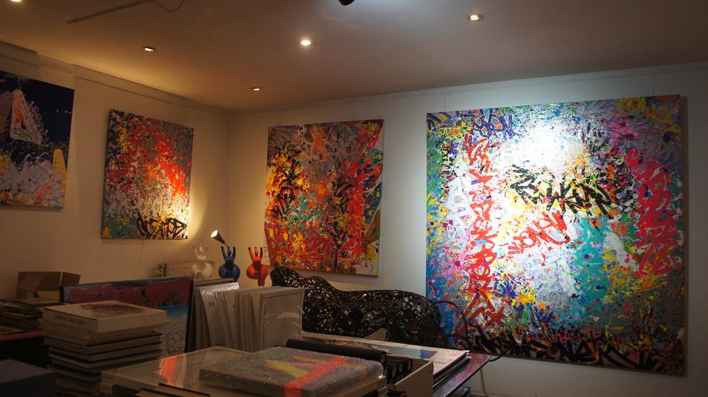 Galerías de arte en Les Marolles