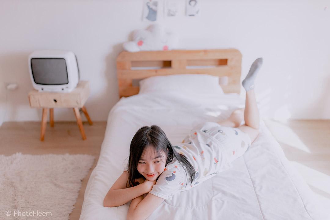 สอนแต่งรูป Lightroom โทนห้องนอนละมุน
