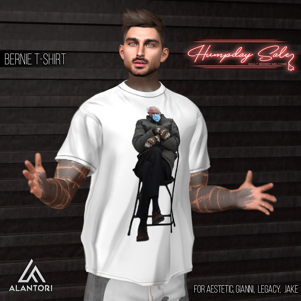 ALANTORI | Bernie T-shirt