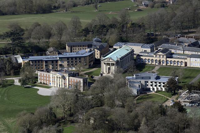 Stowe School aerial image