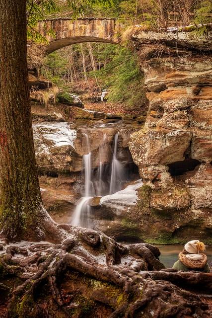 Upper Falls, Hocking Hills