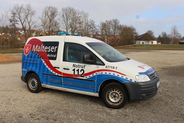 Malteser Aichtal  First Responder Johannes Eslingen  67/19-1