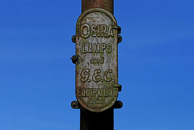 lamp post connection box