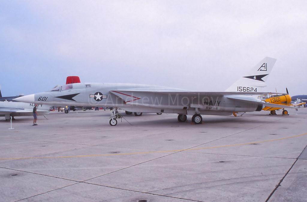 North American RA-5C Vigilante at the 1999 Blue Angels Homecoming Show.