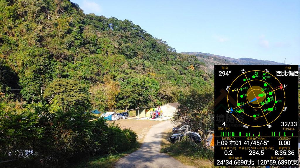 麒麟山露營區_方位及海拔