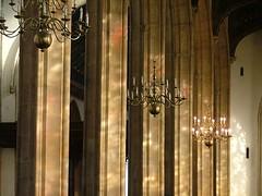 arcades and candelabras
