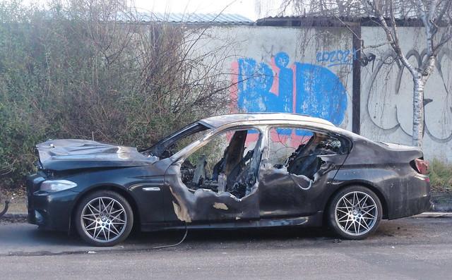 2011 BMW 520TD AZ61164 had been versmart prior to its recent fire