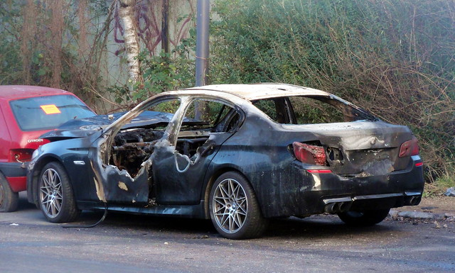 2011 BMW 520TD AZ61164 had been very smart prior to its recent fire