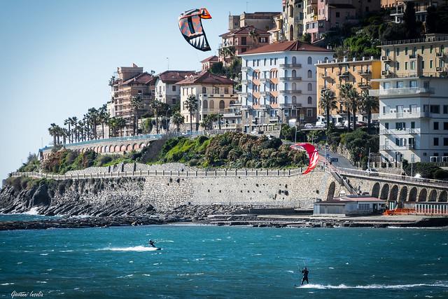 Kitesurfing Borgo Marina - Imperia