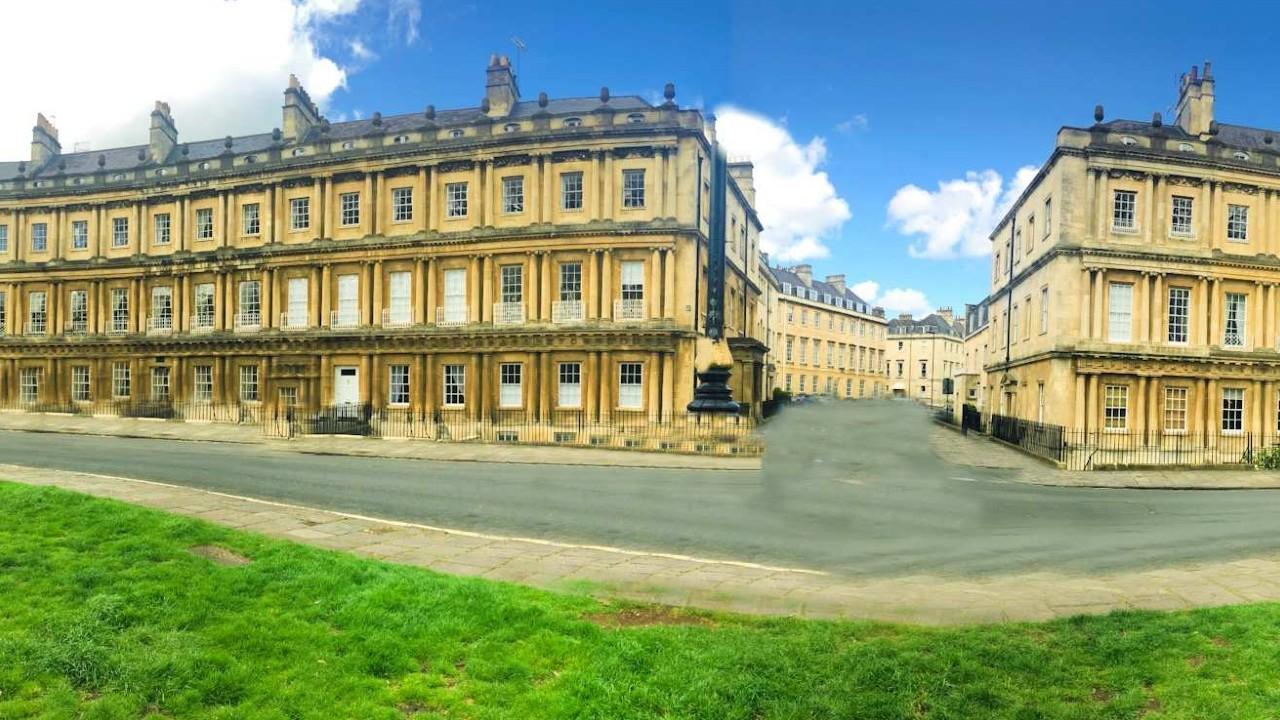 Victoria crescent, Bath
