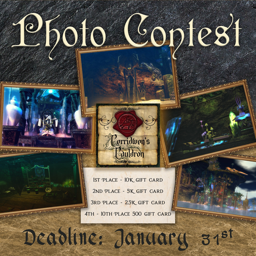 Only A Few Days Left To Get Your Contest Entries In!!!