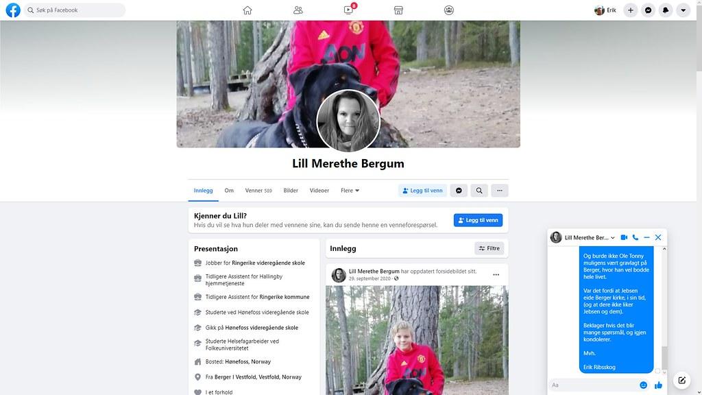 lill merethe bergum facebook 1
