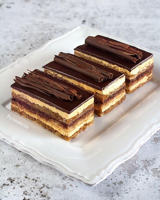 receta de tarta ópera