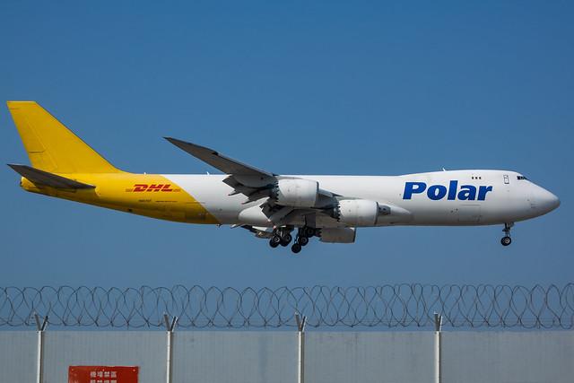 N851GT Polar Air Cargo Boeing 747-87UF