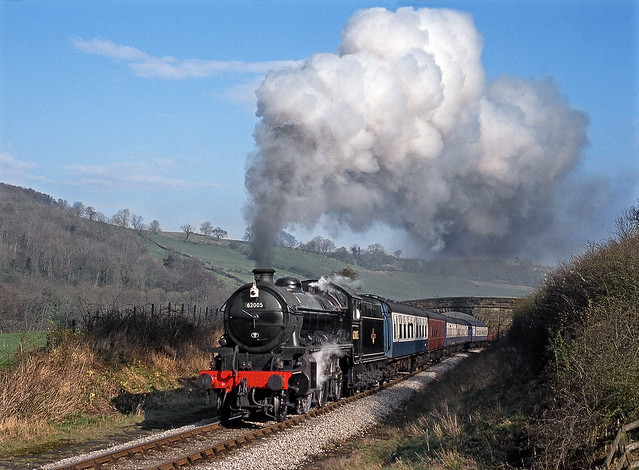 Climbing from Grosmont.