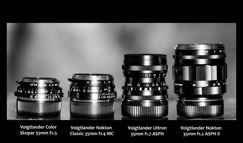 Blog Photo - Voigtlander Ultron vs Skopar vs Nokton(s)