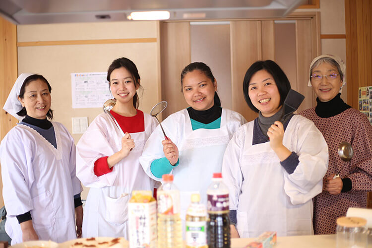 Learn to cook traditional Tokamachi dishes