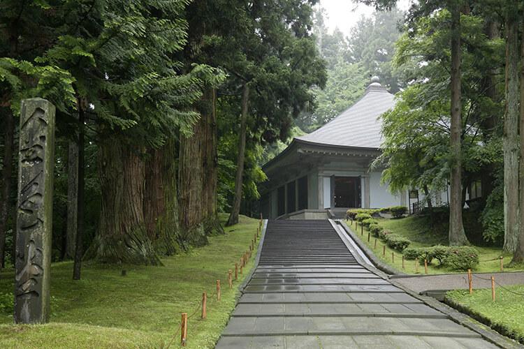 Aula Konjikido di kuil Chuson-ji