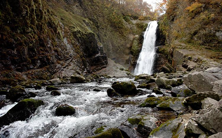 Akiu Otaki Falls in Japan