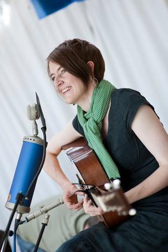 Karine Polwart. Photo: Reid Ingram Weir. From Glasgow, Virtually: Celtic Connections Celebrates Hope and Music