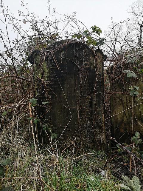 Seen whilst walking around Brompton Cemetery