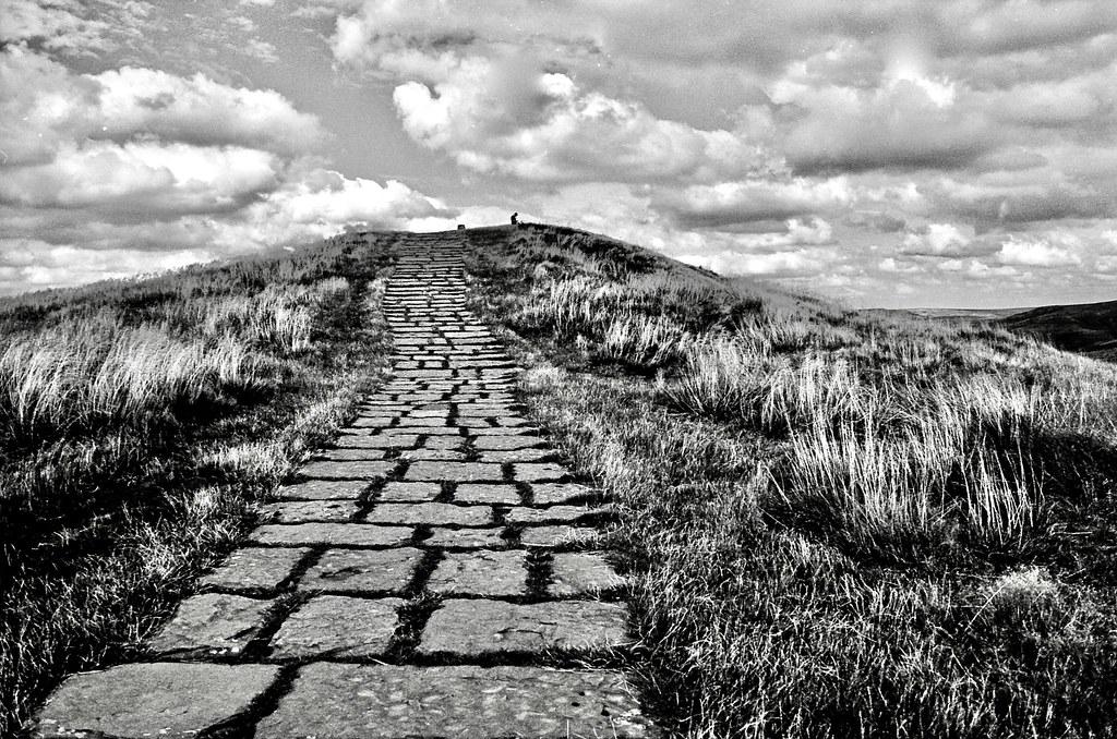 Pathway upwards.