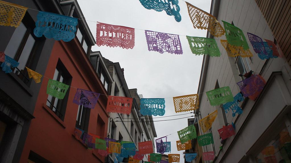 Color en el barrio de Les Marolles