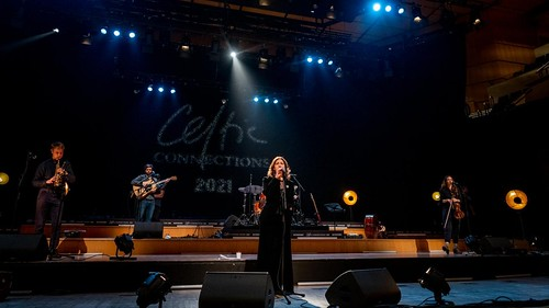 Karen Matheson. Photo: Gaelle Beri. From Glasgow, Virtually: Celtic Connections Celebrates Hope and Music