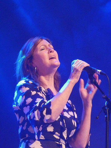 Karen Matheson. Photo: Kerry Dexter. From Glasgow, Virtually: Celtic Connections Celebrates Hope and Music
