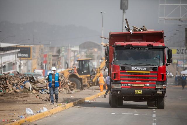 260121 Operativo de recuperación de av Pachacútec en Villa El Salvador