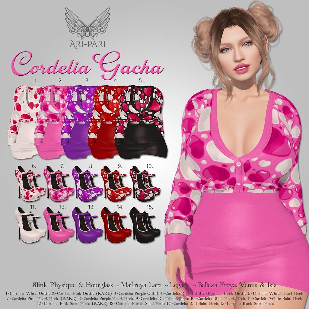 [Ari-Pari] Cordelia Gacha