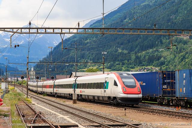 SBB 500 032, Ambrì-Piotta