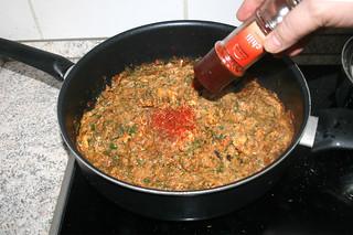46 - Taste with seasonings / Mit Gewürzen abschmecken