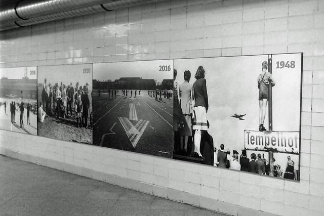 Bildergalerie Bahnhof U S-Bahnhof  Tempelhof 22.1.2021
