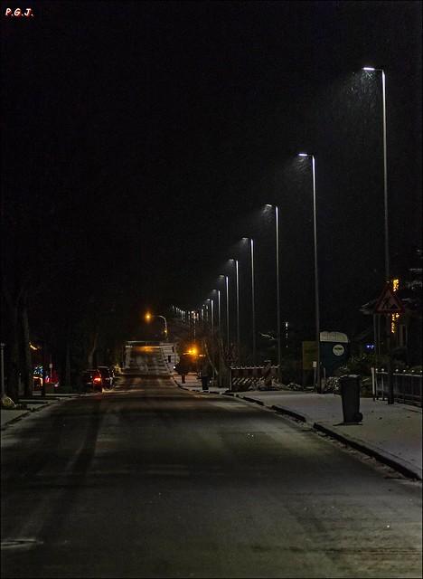 Bahnhofstrasse im Winter