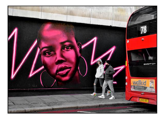 LONDON STREET ART by DAVID SPEED AGAIN