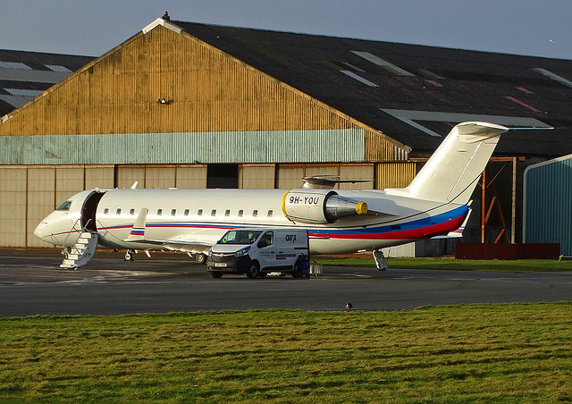 9H-YOU Canadair Regional Jet 850 of Air X Charter