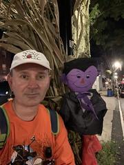 Ryan Janek Wolowski Count von Count from Sesame Street ( Count Dracula Vampire Bela Lugosi by Bram Stoker from Dublin Ireland ) The Legend of Sleepy Hollow Hudson Valley New York USA October 2020